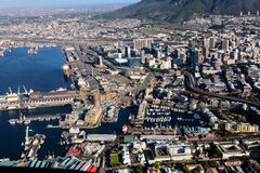 воздушный взгляд Cape Town Стоковая Фотография