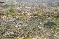 воздушный взгляд Cape Town Стоковые Фотографии RF