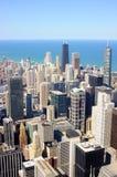 воздушный взгляд chicago городской Стоковая Фотография RF