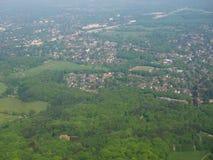 воздушный взгляд hamburg стоковое изображение rf