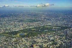 воздушный взгляд london Стоковая Фотография RF