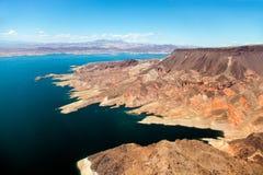 воздушный взгляд mead озера Стоковое Фото