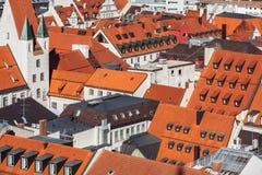 воздушный взгляд munich стоковые фотографии rf