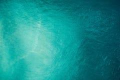Воздушный вид на океан Стоковая Фотография