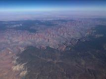 воздушный каньон грандиозный Стоковые Фото