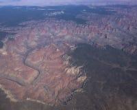 воздушный каньон грандиозный Стоковое Изображение RF