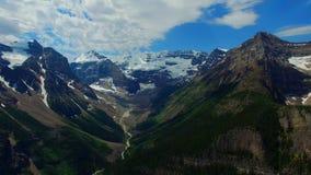 Воздушный лоток Banff Канада акции видеоматериалы
