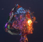 воздушный пузырь цветастый Стоковая Фотография RF