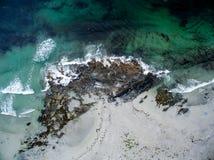 Воздушный пляж Стоковые Фото
