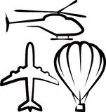 воздушный транспорт Стоковая Фотография RF