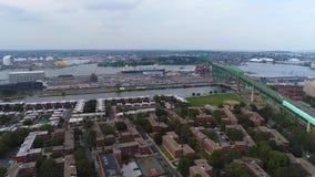 Воздушный трутень видео- Бостон Autoport видеоматериал