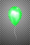 Воздушный шар вектора зеленый EPS10 Стоковые Изображения RF
