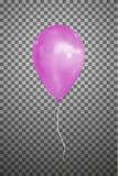 Воздушный шар вектора розовый EPS10 Стоковое Фото