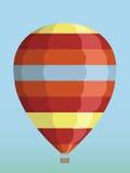 Воздушный шар в небе Стоковое Фото