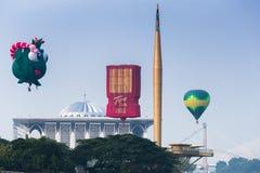воздушный шар горячий putrajaya Стоковая Фотография