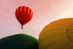 воздушный шар горячий putrajaya Стоковое Фото
