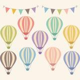 Воздушный шар год сбора винограда горячий Стоковое фото RF
