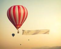 Воздушный шар год сбора винограда горячий Стоковые Фото