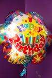 Воздушный шар день рождения счастливый Стоковые Изображения RF