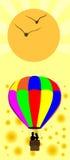 Воздушный шар лета иллюстрация штока