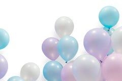 Воздушный шар пастельного цвета стоковые изображения