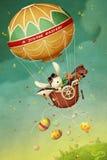 Воздушный шар пасхи бесплатная иллюстрация