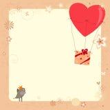 Воздушный шар подарка Стоковое Изображение