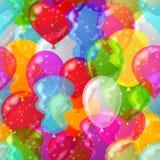 воздушный шар предпосылки безшовный Стоковая Фотография