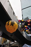 Воздушный шар протеста Стоковая Фотография RF