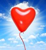 Воздушный шар сердца Стоковые Изображения RF