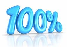 воздушный шар 100 один процент Стоковые Изображения RF