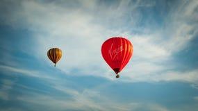 Воздушный шар Virgin Media Стоковое Изображение
