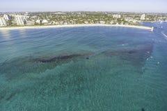 Воздушный Fort Lauderdale, Флорида стоковое фото