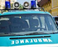 Воинская машина скорой помощи стоковое изображение