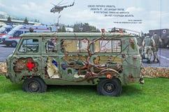 Воинская машина скорой помощи Стоковые Изображения RF