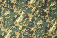 Воинская предпосылка камуфлирования текстуры Стоковые Изображения