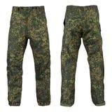 Воинские брюки, камуфлирование Стоковые Изображения RF
