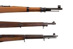 воинские винтовки Стоковые Изображения RF