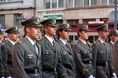 Воинские кадеты Стоковое Изображение RF