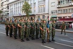 Воинские кадеты Стоковое Фото