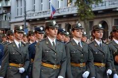 Воинские кадеты Стоковое Изображение