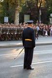 Воинские кадеты Стоковое фото RF