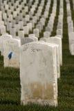 воинские надгробные плиты белые Стоковая Фотография RF