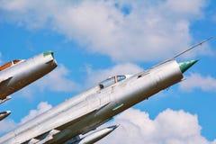 Воинские самолеты Стоковые Изображения