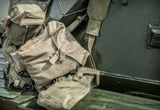 Воинские сумки Стоковые Фотографии RF