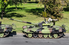 Воинские танки Стоковая Фотография RF