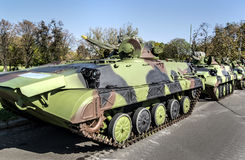 Воинские танки Стоковое фото RF