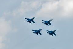 Воинский боец SU-27 воздуха Стоковое фото RF