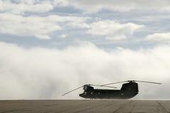 Воинский вертолет Стоковые Изображения