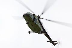 Воинский вертолет Mi 171 Стоковые Фото
